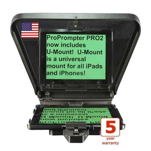 HDI-PRO-2 Mobile Teleprompter