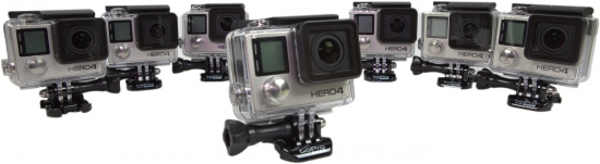 GoPro Hero4 360° - Komplett Set