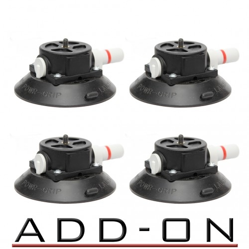 RigWheels 4 Vacuum Suction Cups
